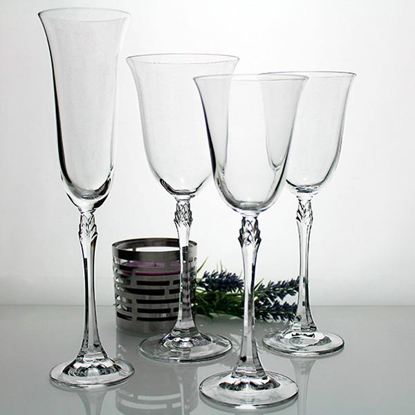 Cristaler a fuchsia 48 copas cristaler a perfecta y - Cristalerias de bohemia ...