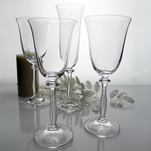 Cristaler a de mesa angela 48 copas la mejor cristaler a for Copas bohemia